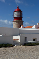 Leuchtturm Cabo de Sao Vicente, Portugal