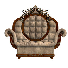 armchair of louis xv.