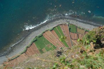 Madeira, Gabo Girao, top view, 890 metre above sea-level