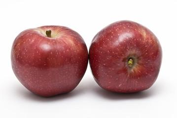 Dos manzanas starking.