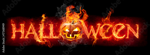 Papiers peints Flamme Halloween