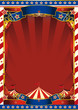 american old striped circus background