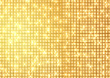 Fototapety ゴールドのドットの背景