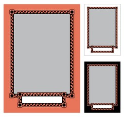Greek frame 1