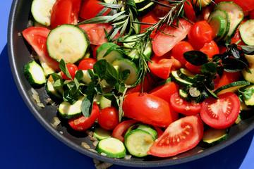 Gemüse-Pfanne