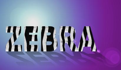 Text_zebra