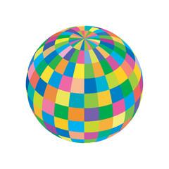 sfera colorata