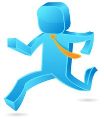 Square guy - Run