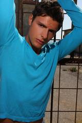 ragazzo in azzurro