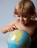 enfant génération avenir environnement écologie planète terre re poster
