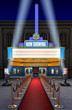 Movie Theatre & Ticket Box - 17392559