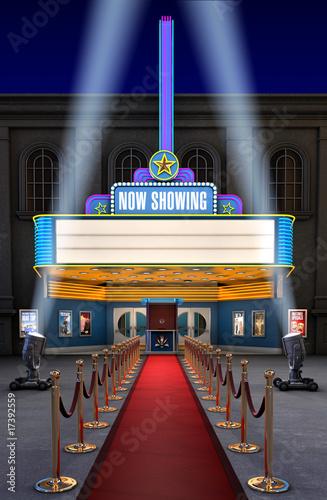 Movie Theatre & Ticket Box - 17392559