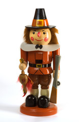 Thanksgiving Holiday Pilgram Nutcracker