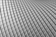 Abstract curve tiles aluminum background with reflection