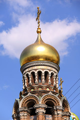 Church of the Savior on Blood - very famous landmark in Saint Pe