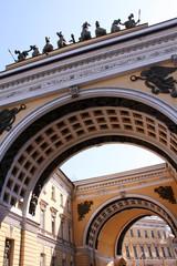 Winter Palace in Saint Peterburg