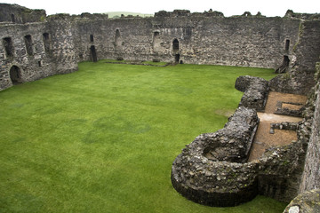 Castillo de Beaumaris, Gales, Reino Unido.