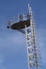 Atalaya en el parque de Yamaguchi, Pamplona, Navarra.