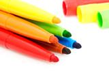Ensemble de feutres colorés poster