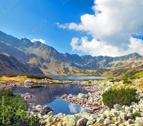 Mountains landscape - 17398301