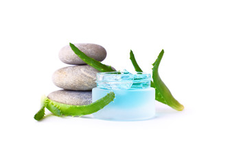 Cosmetic cream and aloe vera