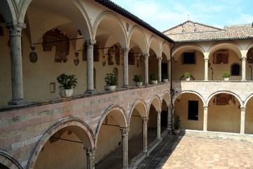 Assisi, Italy, old monastery