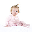 Baby im Schlafanzug