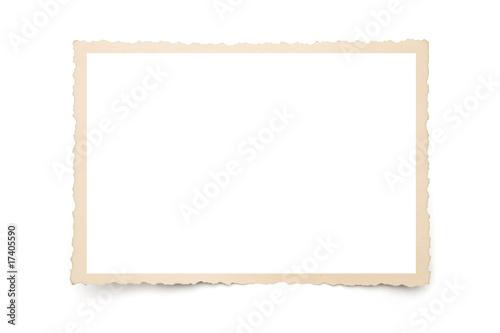 Leinwanddruck Bild alter Bilderrrrahmen