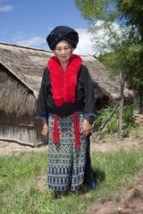 Portrait Frau Asien, Volksgruppe Yao