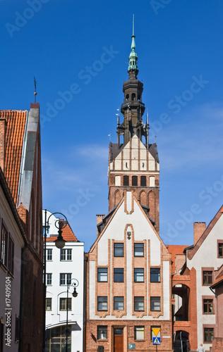 altstadt und nikolaikirche, elbing, elblag