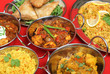 Indian Curry Food Selection
