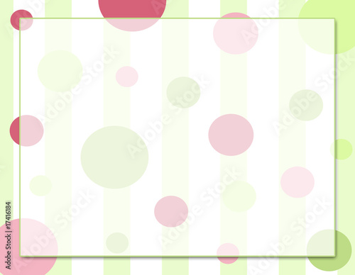 Polk-A-Dot Celebration Single Panel Background