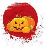 Pumpkin blot poster