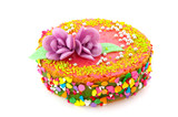 Birthday fancy cake poster