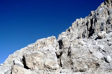 Montagna, profilo roccioso