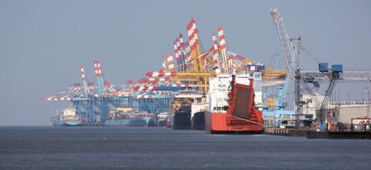 containerterminal bremerhaven in der wirtschaftskrise