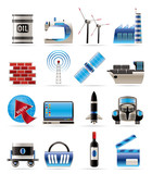 Business and industry icons- vector icon set