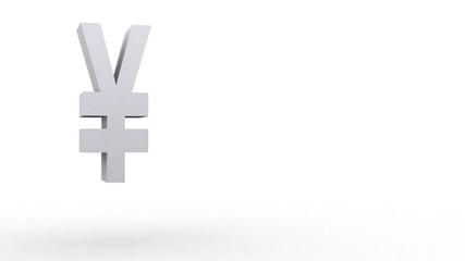 Yen symbol jumping