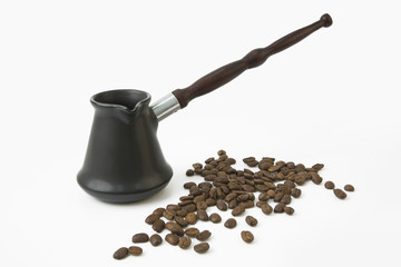 Ñezve and coffee beans