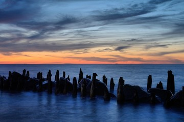 Abends am Meer (2)