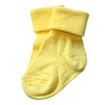 Isolated baby socks