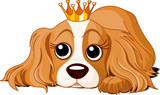 Royalty dog poster