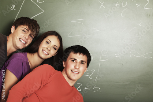 smiley students