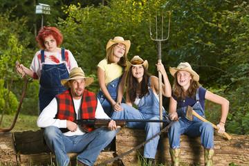 Hillbilly Family