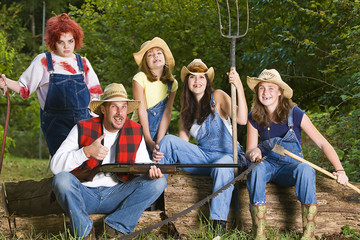 redneck family