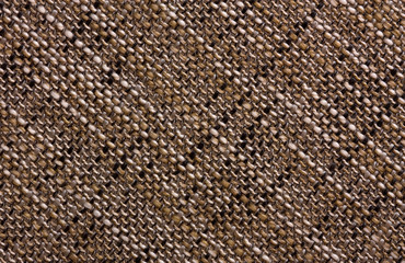 Diagonal texture of a coarse fabric