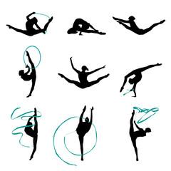 Gymnastique Rythmique Vectoriel 5