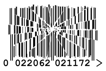 cracked barcode