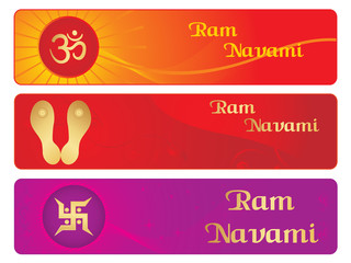 ramnavami banner illustration