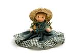 Old porcelain doll poster
